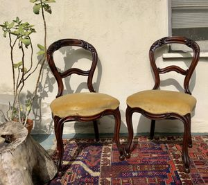 Two Vintage Upholstered Chairs for Sale in Los Angeles, CA