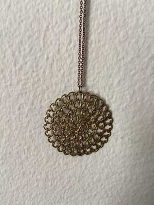 Gold Circular Design Necklace - FREE for Sale in Hillsboro, OR