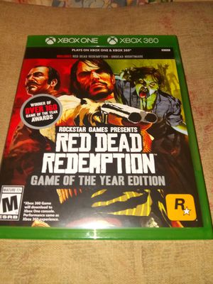Red dead redemption&red dead undead for Sale in Fresno, CA