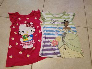 Girls (size 4/5) disney shirt & hello kitty for Sale in Pompano Beach, FL