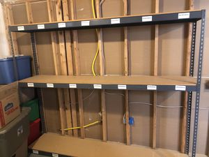 8 foot storage shelve rack for Sale in Dublin, OH