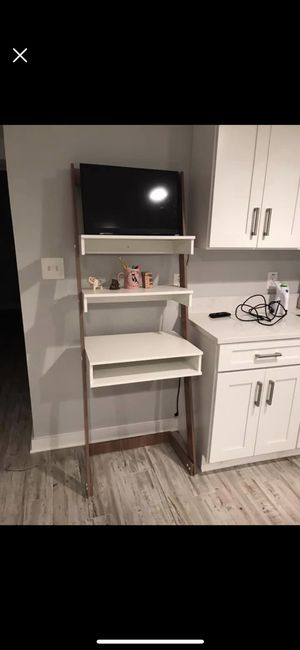 Leaning desk with shelves for Sale in Alexandria, VA