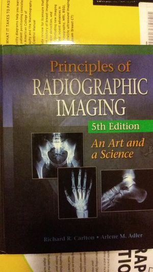 Principles of Radiographic Imaging, 5th ed. for Sale in HILLTOP MALL, CA