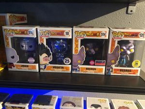 Funko pop dragonball z for Sale in Federal Way, WA
