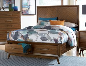 Brand new mid century queen bed frame for Sale in San Diego, CA