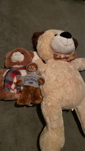 3 Stuffed Animals ($15 gets you all 3) for Sale in Cypress, CA