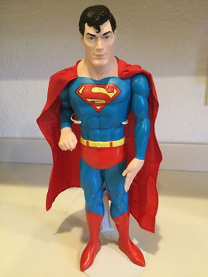 """Superman DC 1988 Hamilton 15"""" Vinyl Action Figure for Sale in Cape Coral, FL"""