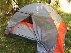 Used once camping tent for Sale in El Paso, TX