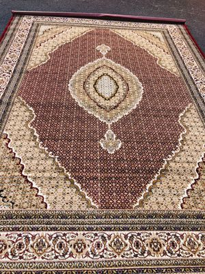 Brand new Tabriz design area rug size 8x11 nice red carpet Persian style rugs for Sale in Burke, VA