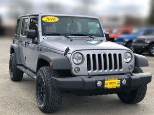 2016 Jeep Wrangler for Sale in Kirkland, WA