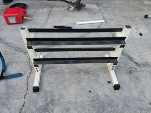 Barbell stand for Sale in Orlando, FL