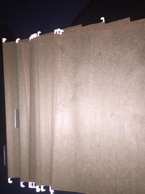 Hanging Folders legal size 30 cents each for Sale in Silver Spring, MD
