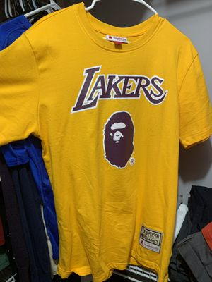 Bape Mitchell and Ness Los Angeles Lakers for Sale in Atlanta, GA