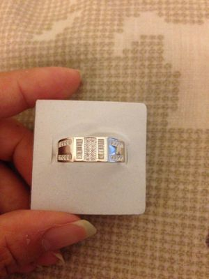 Real 925 Sterling Silver wedding ring size 9 for Sale in Nuevo, CA