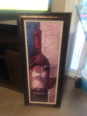 Wine picture for Sale in Tucson, AZ