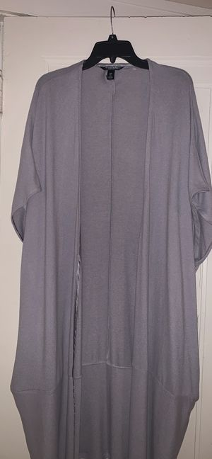 Grey Robe/But Also Worn As A Cardigan for Sale in Detroit, MI