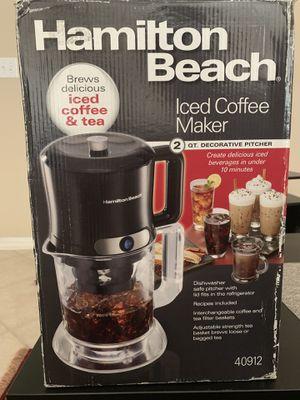 Hamilton Beach iced coffee maker for Sale in Nashville, TN