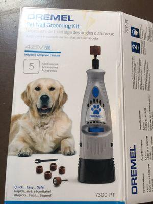 Dremel pet nail grooming kit for Sale in Phoenix, AZ