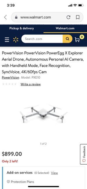 Poweregg X Explorer Drone/Camera for Sale in Baltimore, MD