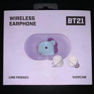 BT21 X Royche wireless earbuds for Sale in Goodyear, AZ