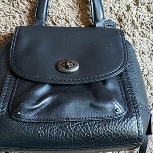 COACH BLACK LEATHER MINI BACKPACK BRAND NEW NO TAGS for Sale in San Diego, CA