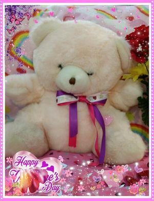 Pink teddy bear plush stuffed animal for Sale in Saint Paul, MN