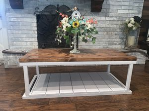 Handmade coffee table for Sale in Irving, TX