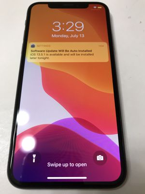 iPhone X 256GB Factory Unlocked for Sale in Gresham, OR
