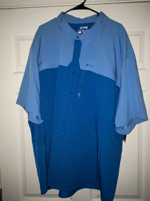 Silver Bait Fishing Shirt, New with Tag, Extra Extra Extra Extra Large (4XB), $25 for Sale in Marietta, GA