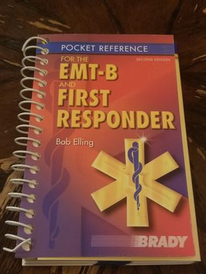 Pocket Reference Book for the EMT-B and First Responder by Bob Elling 2e - Paperback for Sale in Hawthorne, CA