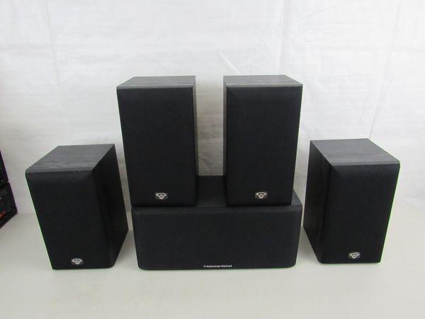 Cerwin Vega 4 VE-5M & 1 LS-5C Stereo Surround Speakers