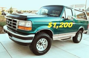 🚙🔥 1996 Ford Bronco'Clean title $1200 🚙🔥 for Sale in Gulfport, FL