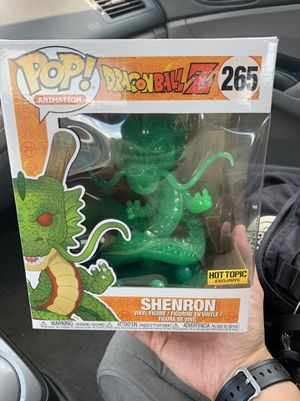 Shenron (Jade) Hot Topic Exclusive Dragon Ball Z Funko Pop! 6in Vinyl Figure for Sale in Takoma Park, MD