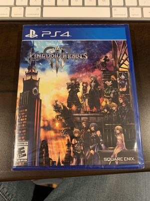 Kingdom Hearts 3 for PS4 and PS4 Pro for Sale in Escondido, CA
