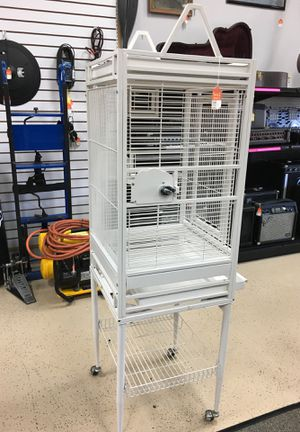 Bird Cage on Casters for Sale in Port St. Lucie, FL