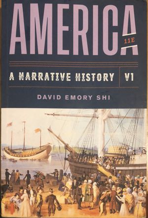 America a narrative history 11th edition by David Emory for Sale in Mercedes, TX