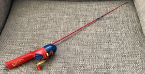 Superman Shakespeare Kids Fishing Rod 30 1/2' for Sale in Fresno, CA