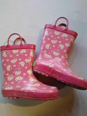 Girls Hello kitty rain boots for Sale in Chula Vista, CA