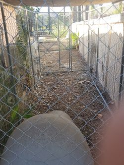 5x15 Chain Link Dog Kennel for Sale in Menifee,  CA