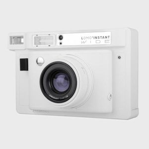 Lomography Lomo'Instant Wide Camera White - Instant Film Camera for Sale in Los Angeles, CA