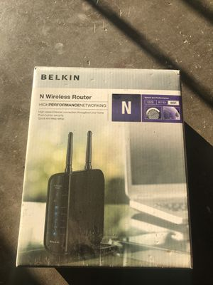 Wireless router for Sale in La Mirada, CA