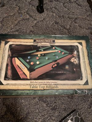 Mini pool table and air hockey set for Sale in Huntersville, NC