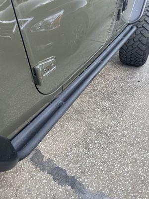 Jeep Wrangler rock rail/side step for Sale in Brandon, FL