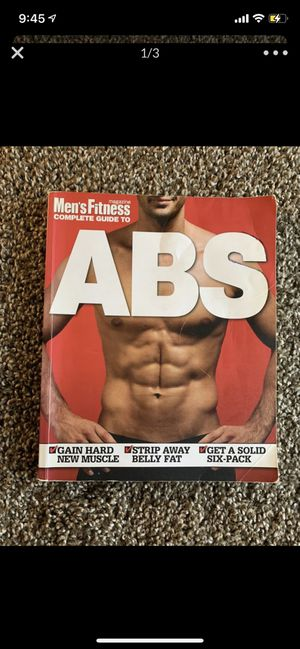 Men's Fitness Abs book for Sale in Columbus, OH