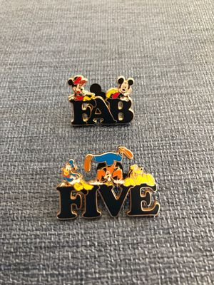 "Disney Pin ""Fab Five"" for Sale in Riverside, CA"
