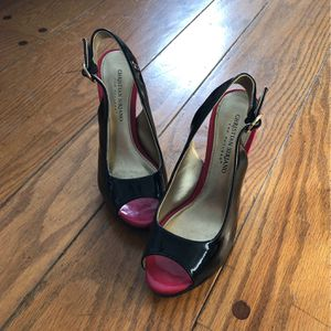 Red And Black Christian Siriano Heels for Sale in Mercer Island, WA
