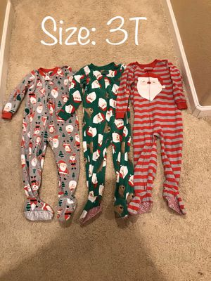 3T Christmas Pajamas for Sale in Chula Vista, CA