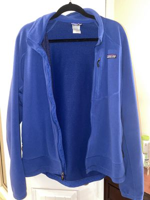 Patagonia Men's Royal Blue Fleece Zip Up Jacket for Sale in Austin, TX