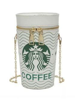 Starbucks Inspired Bucket Cup Bag Purse for Sale in Newport,  VT