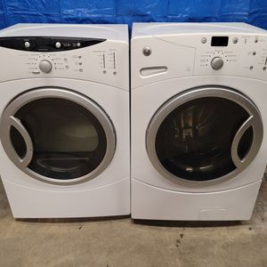 GE Washer And Electric Dryer Set Good Working Condition Set For $399 for Sale in Wheat Ridge, CO